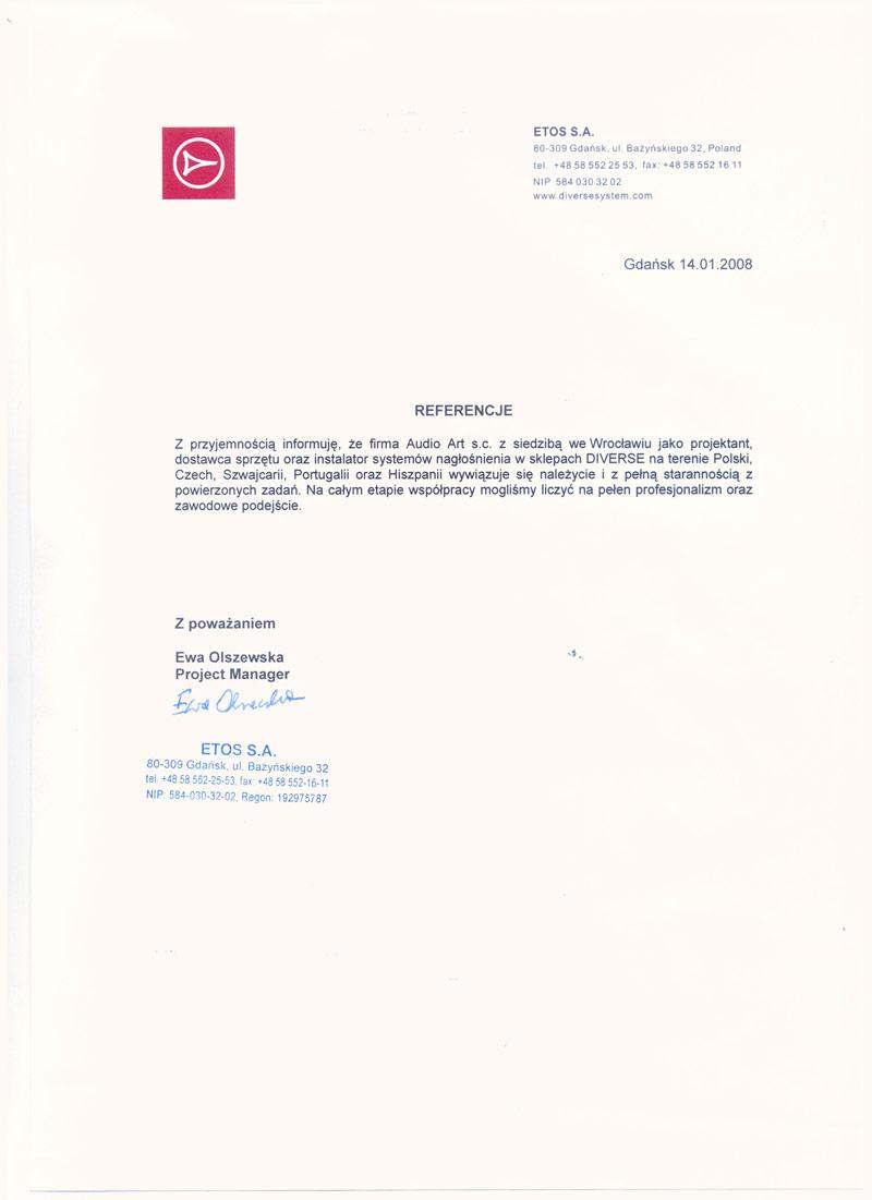 Referencje--ETOS-001