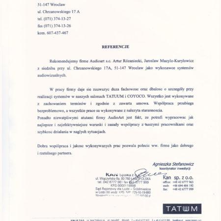Referencje-TATUUM-001