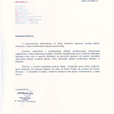 Referencje-ARTMAN-001
